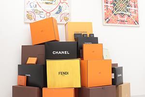 ブランドの箱