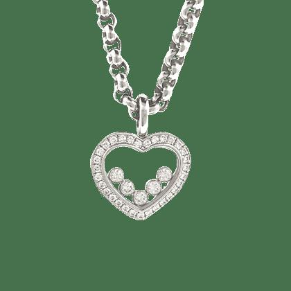 ショパール ハッピーダイヤモンド ネックレス 未使用品