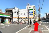 都島駅付近のファミリーマート