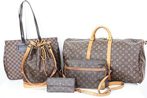 ルイヴィトンのバッグ財布