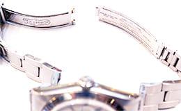 ブレス破損の時計