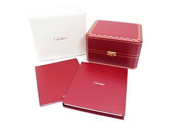 カルティエの箱保証書