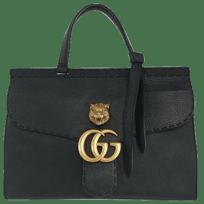 グッチのGGマーモントメタルキャットハンドバッグ