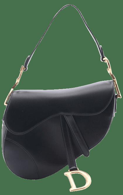 ディオールのレザーサドルバッグ