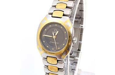 古いオメガのシーマスター腕時計