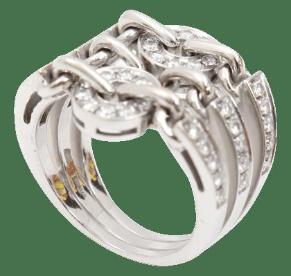ブルガリのアストラーレダイヤリング