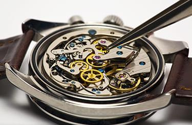 時計修理店と提携
