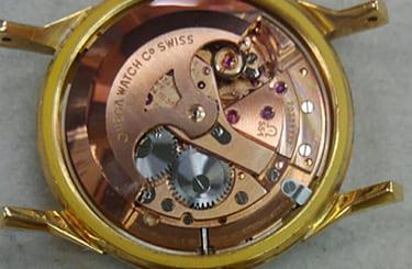 オメガ腕時計のムーブメント