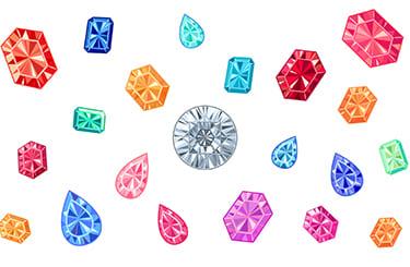いろいろな宝石