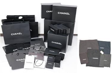 シャネルの箱や袋