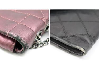 ダメージのあるシャネルバッグ・財布