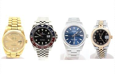 ロレックスデイトジャスト、オイスターパーペチュアル、GMTマスター2、デイデイト腕時計