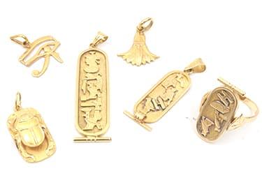 海外の金製品