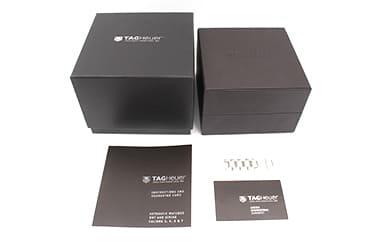 タグホイヤーの箱や保証書
