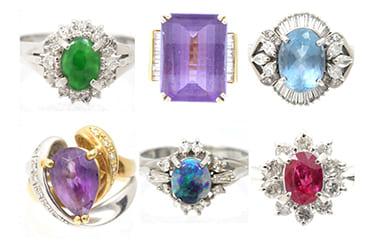 様々な宝石