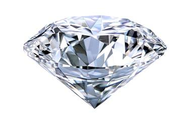 ラウンドブリリアントのダイヤモンド