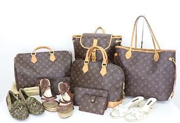 沢山のルイヴィトンバッグ・財布・靴