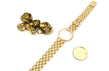 金無垢時計と金歯