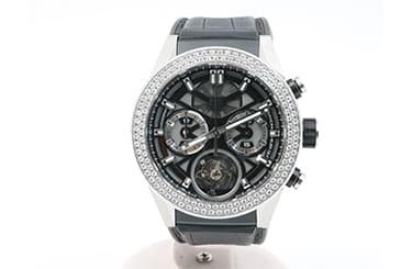 タグホイヤーのトゥールビヨンモデル腕時計