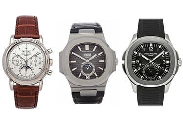 パテックフィリップ ノーチラス・アクアノート・グランドコンプリケーションなど高額ライン腕時計