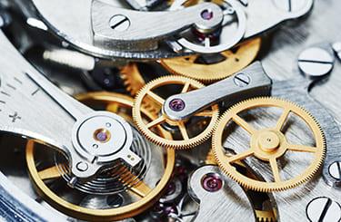 時計の内部機構