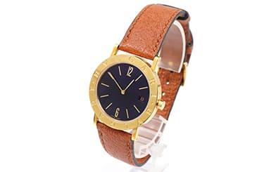 古いブルガリの腕時計