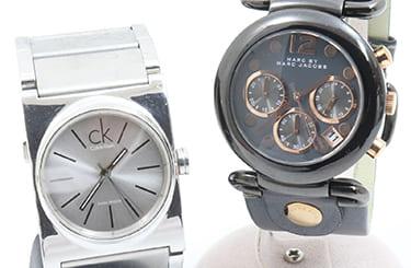 CKとマークジェイコブスの時計