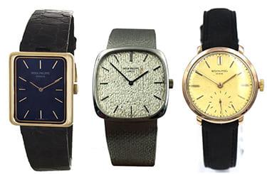パテックフィリップのアンティークカラトラバやゴンドーロ腕時計