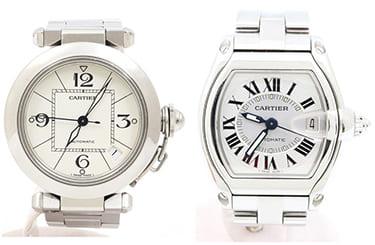 カルティエパシャ・ロードスターなど時計買取も強い