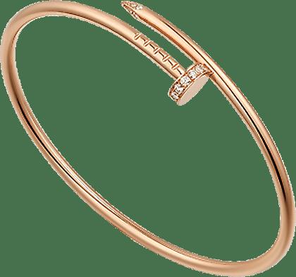 カルティエ ジュストアンクル ブレスレット ダイヤモンド 750PG 30g 美品