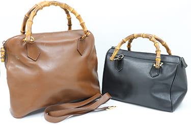 グッチバンブーラインのバッグ