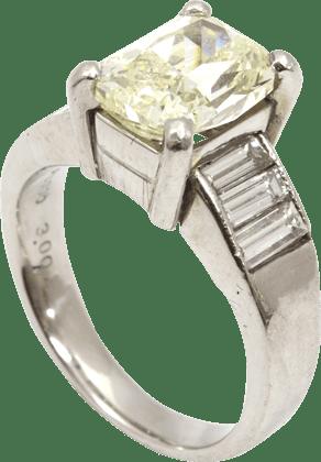 ダイヤモンド 2.00ct Pt900 リング