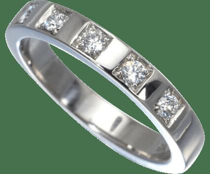 ブルガリ マリーミー リング Pt950 ダイヤモンド 5P