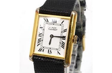 カルティエタンクヴェルメイユ時計