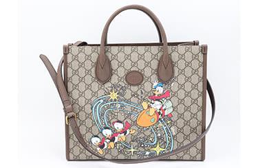 ディズニーコラボのグッチのバッグ