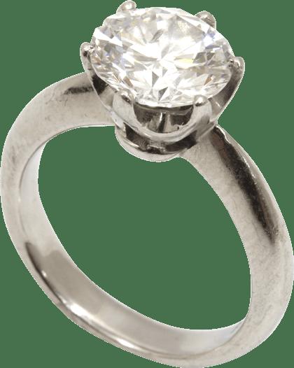 ダイヤモンド D2.034ct Pt900 リング