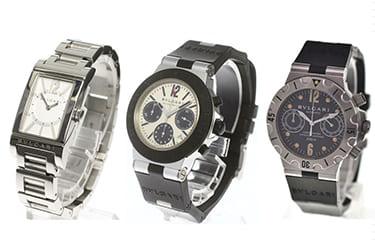 ブルガリの時計も強化買取