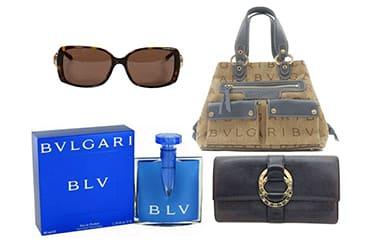 ブルガリのバッグや小物も買取可能