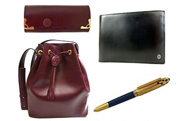 カルティエバッグ・財布・キーケース・ペンなど買取アイテムが幅広い
