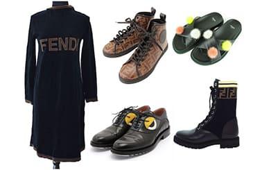 フェンディの服と靴