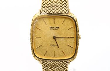 古いラドーの時計も買取可能