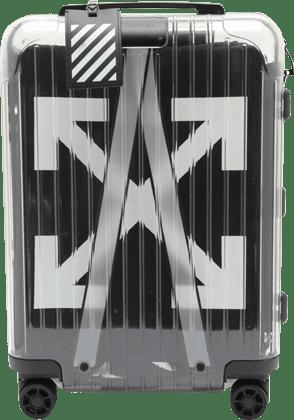 リモワ オフホワイト シースルー キャリーバッグ 36L 未使用品