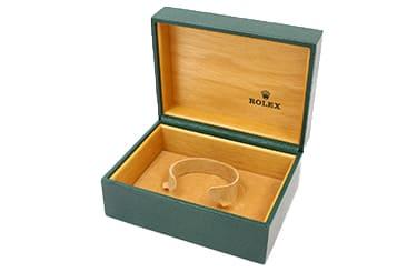 ロレックスの古い箱