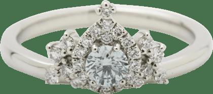 4℃ ダイヤモンド リング Pt950 D0.22ct 美品