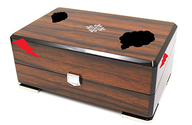 ボロボロのパテックの箱