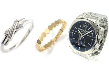 ショーメのリング・腕時計
